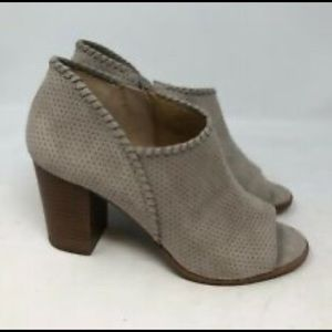 Jack Roger taupe suede bootie